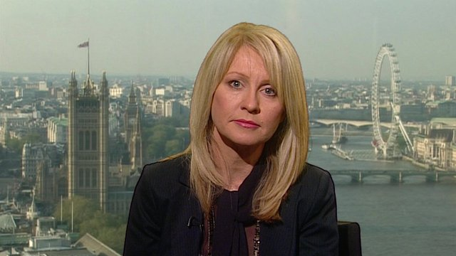 Employment Minister Esther McVey
