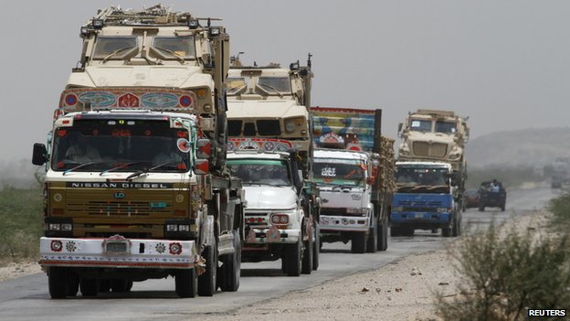 Trucks in Pakistan
