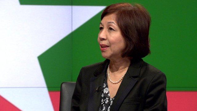Tin Htar Swe from the BBC's Burmese Service