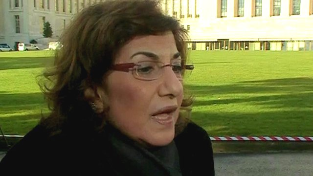 Syrian presidential adviser Dr Bouthaina Shaaban