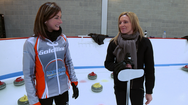 Eve Muirhead talks to Gabby Logan about Team GB's chances at Sochi