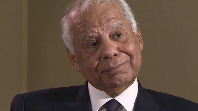 Egypt Prime Minister Hazem El Beblawi