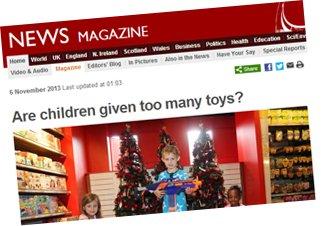 BBC news page