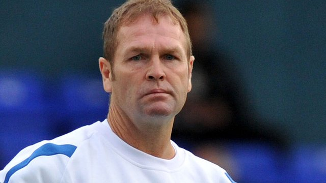 Scunthorpe manager Russ Wilcox