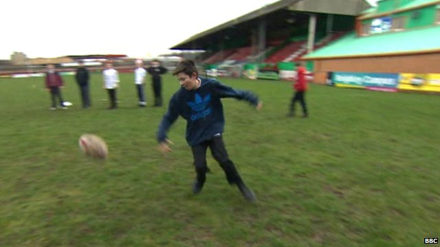 My Sporting Chance at Keighley Cougars training ground