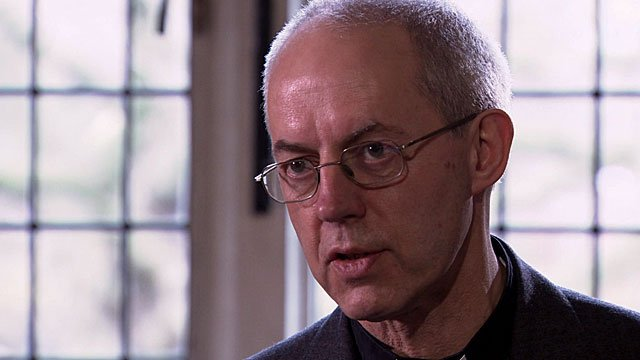 Justin Welby the Archbishop of Canterbury