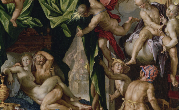 Mars and Venus surprised by the gods