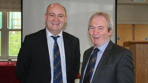 John Davies + Stephen James