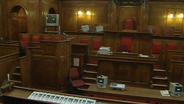 Court scene