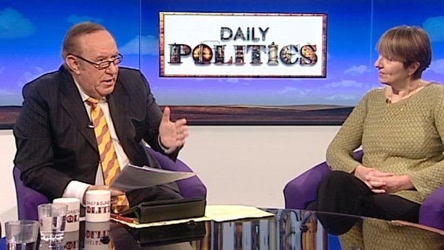 Andrew Neil and Dr Louise Irvine