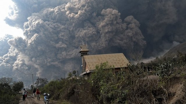 Mount Sinabung eruption