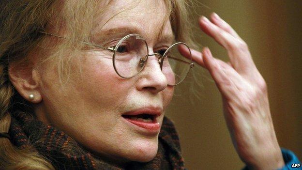 File photo of Mia Farrow (15 January 2013)