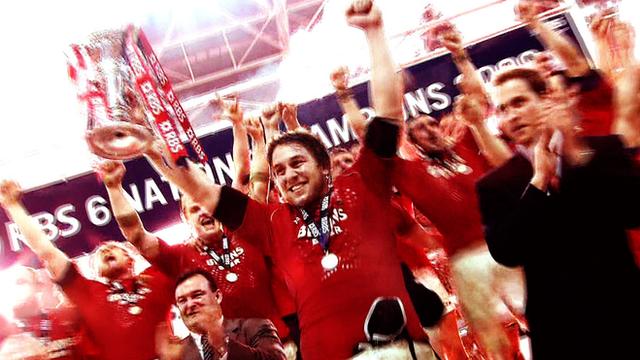 Wales winning the 2008 Six Nations