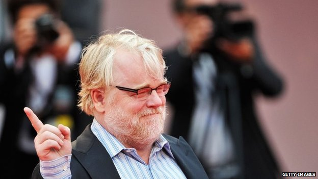 Hoffman at the Venice Film Festival in 2012