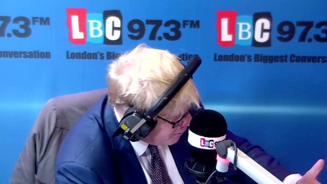 Boris Johnson on LBC
