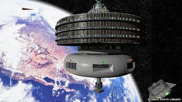 Space terminal (artist concept)