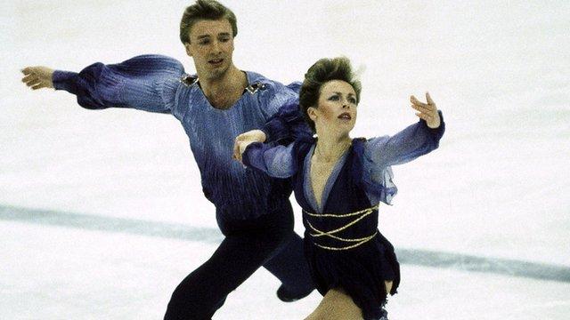 Jayne Torville and Christopher Dean