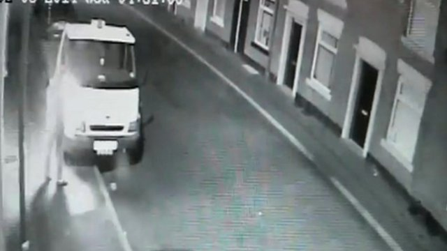 Truck arsonist in Falinge