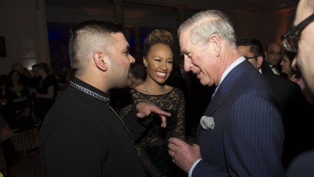 Naughty Boy, Emeli Sande and The Prince of Wales