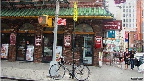 Chinatown, New York. Photo courtesy of Reena Joy Flores and Gina Chung, Open City