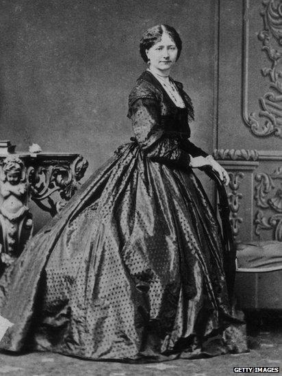 Ellen Ternan, Charles Dickens' mistress, in about 1860