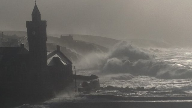 Porthleven in south-west Cornwall