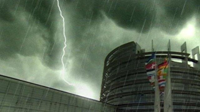 Eurozone storm graphic