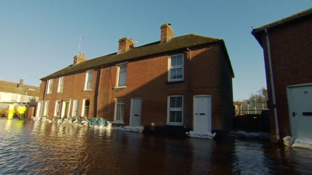 Flooding in Kent