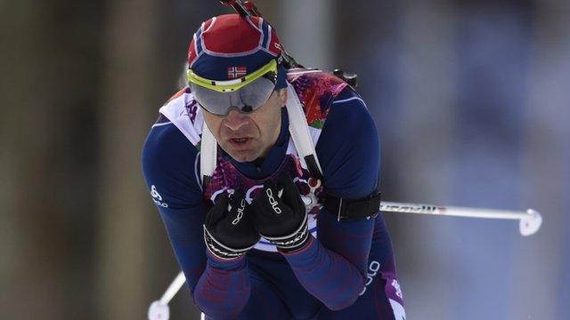 Bjoerndalen Ties Olympic Record