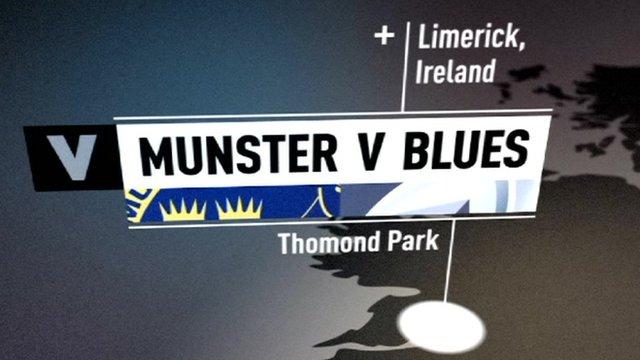 Munster v Cardiff Blues