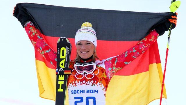 Germany's Maria Hoefl-Riesch