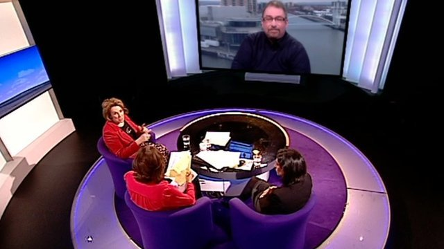 Daily Politics panel debate on food banks