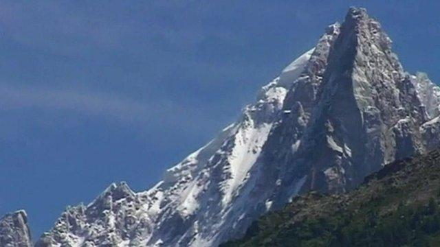 A Swiss mountain