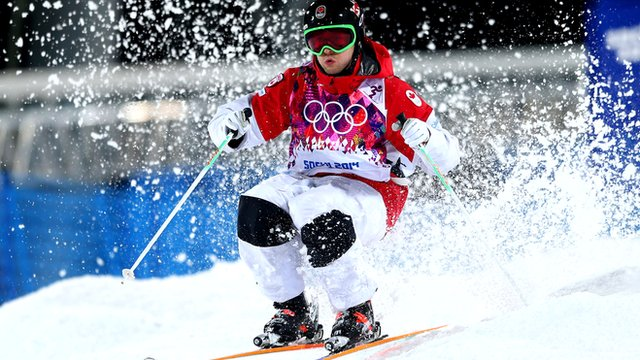 Alex Bilodeau wins moguls gold for Canada