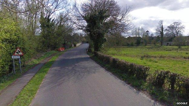 Wylye in Wiltshire