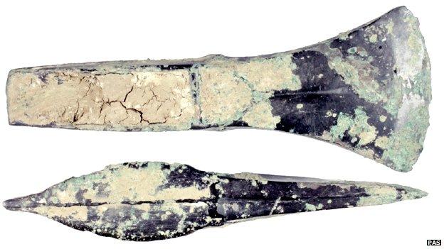 Bronze Age palstave