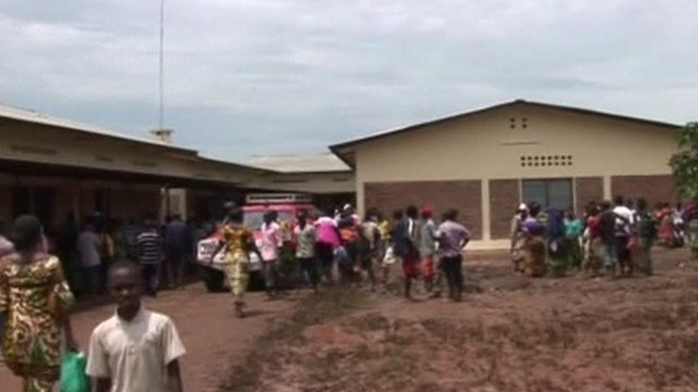 People gathered in Bujumbura
