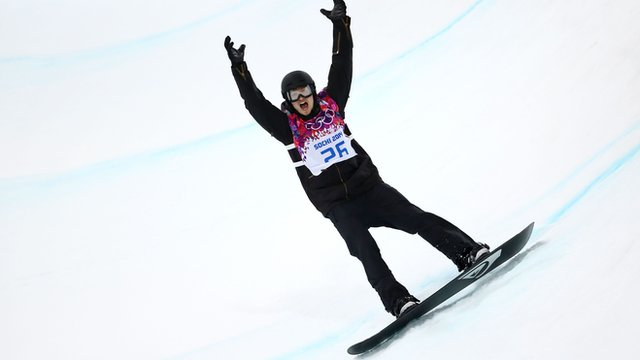 White misses out on halfpipe medals