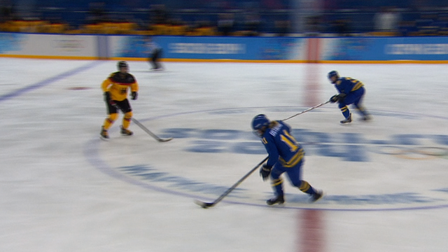 Ice hockey goal of the day: Sweden Vs Germany