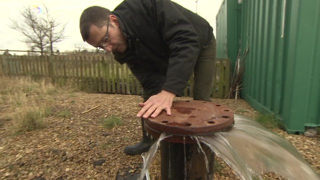 Opening up a borehole