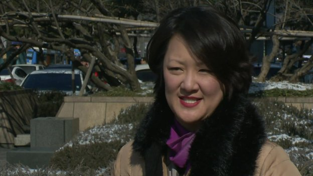Jean Lee, a journalist who used to work in North Korea