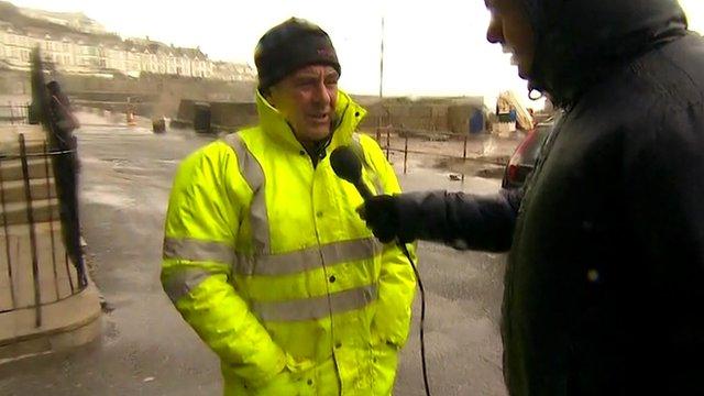 Phil Ward, Porthleven Harbour Master