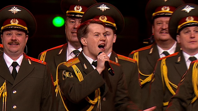 Russian Interior Ministry Police Force singing