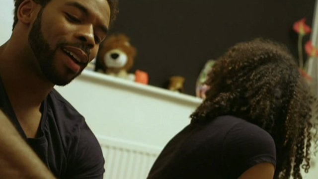 Scene from the video