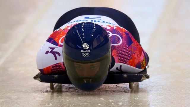 GB skeleton rider Lizzie Yarnold