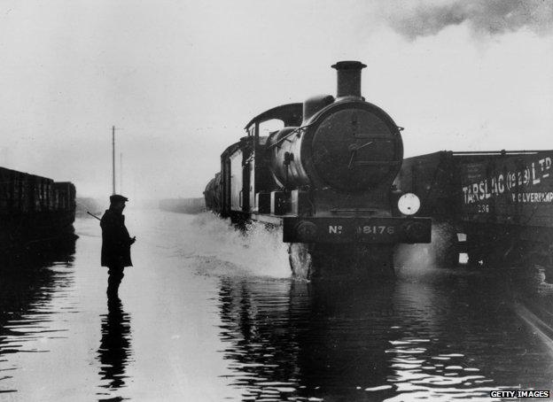 Train in Stratford
