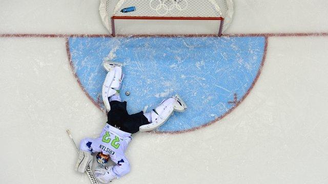 Ice hockey goal of the day: Rus v Slo