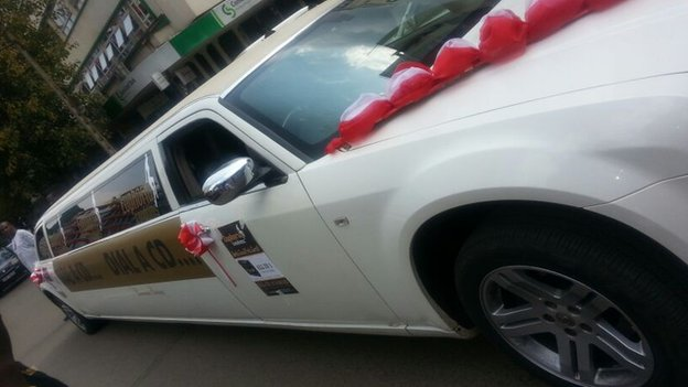 The limousine to deliver condoms