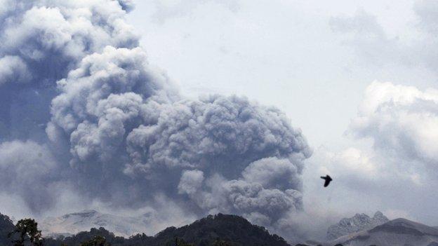 Mount Kelud (14 February 2014)