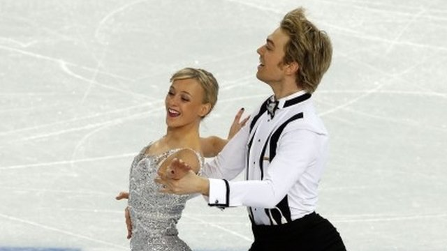 Great Britain ice dance pair Penny Coomes and Nick Buckland